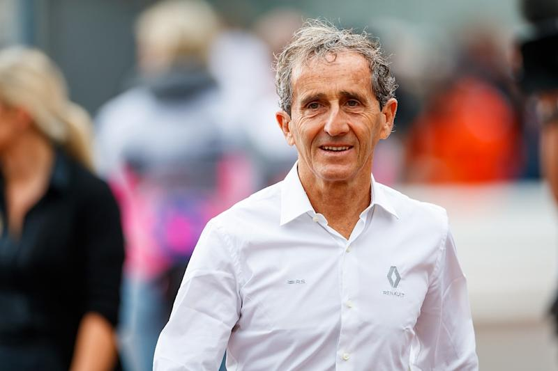 Prost now director of Renault team parent company