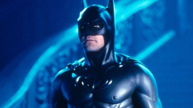 George Clooney in Batman & Robin (Credit: Warner Bros)