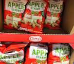 "<p>Clancy's gives the crispy goodness of chips a sweet twist in the form of these Cinnamon Apple Straws. You get the taste of apple pie with a satisfying crunch—this <a href=""https://www.instagram.com/aldiforpresident/"" rel=""nofollow noopener"" target=""_blank"" data-ylk=""slk:snack"" class=""link rapid-noclick-resp"">snack</a> is one that the whole family will really fall for. Plus, you can get a big ol' bag for <a href=""https://www.instagram.com/p/B_dq_dNhvId/"" rel=""nofollow noopener"" target=""_blank"" data-ylk=""slk:just $2.19"" class=""link rapid-noclick-resp"">just $2.19</a>.</p>"