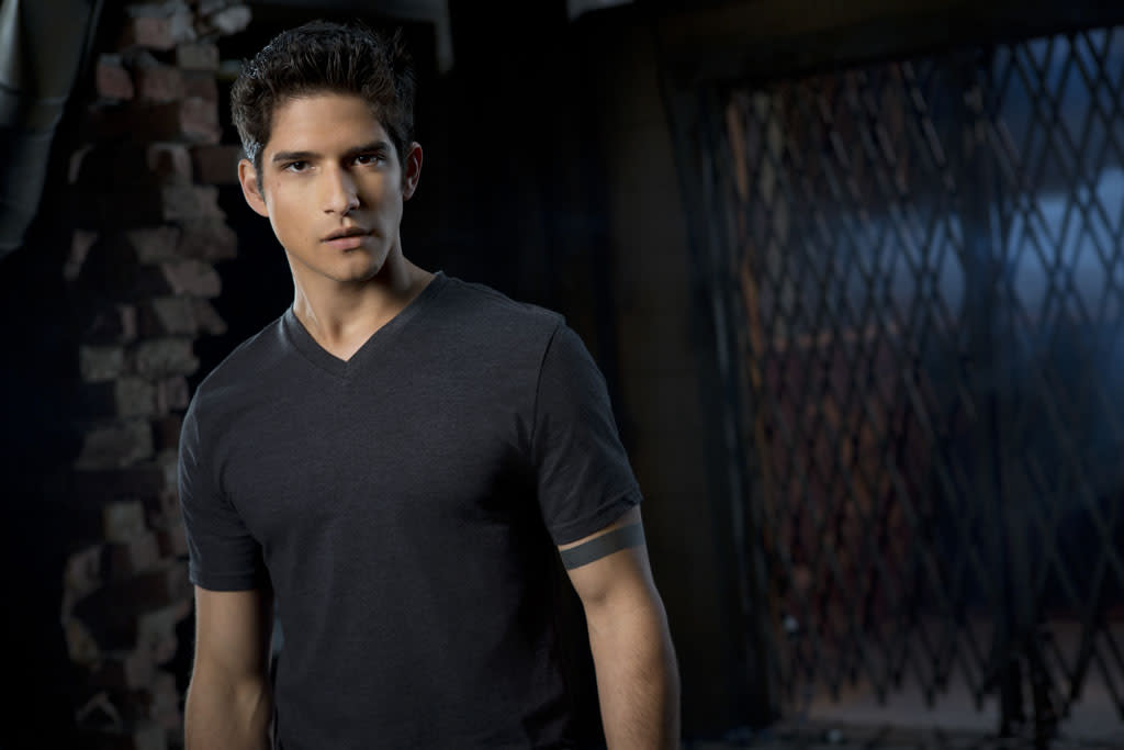 "Scott (Tyler Posey) in MTV's ""Teen Wolf"" Season 3."