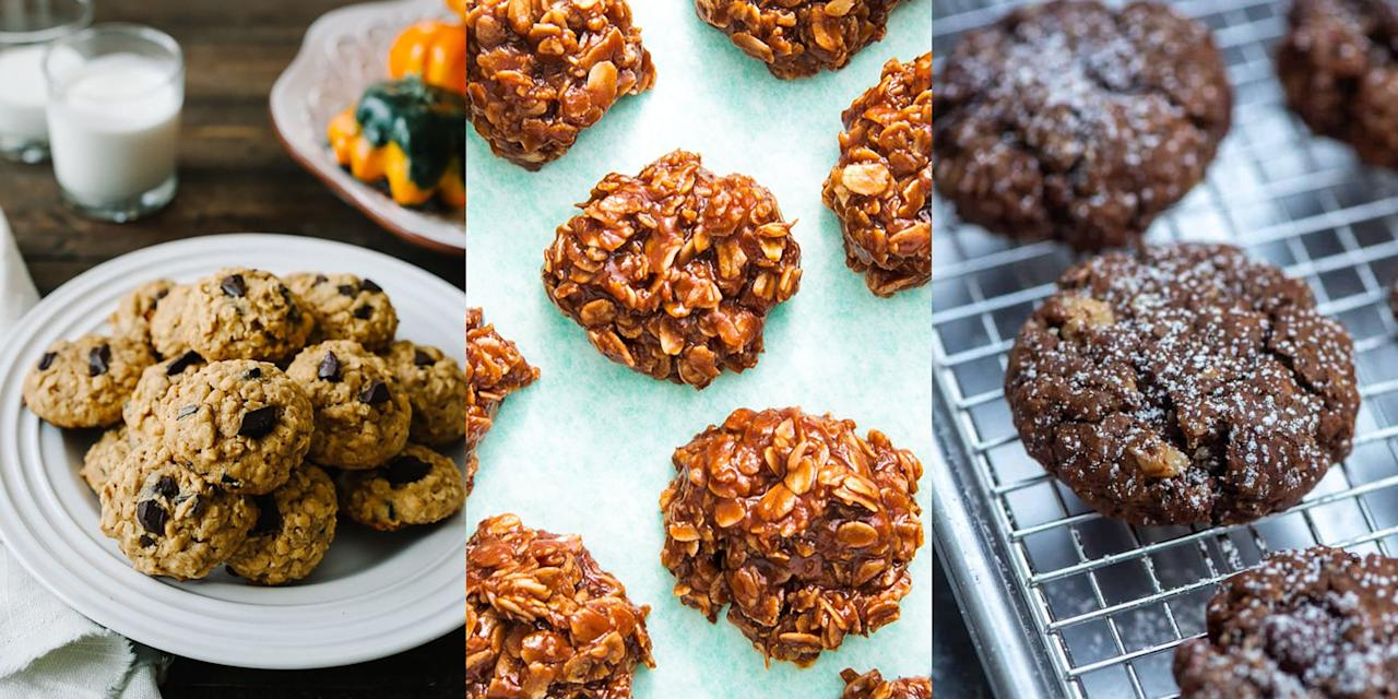 """<p>Nothing beats <a href=""""https://www.delish.com/uk/cooking/recipes/g30220794/cookie-recipes/"""" target=""""_blank"""">homemade cookies</a>, but homemade oat cookies? Well, we're obsessed. They make the best mid-afternoon snacks and they are SO easy to make (literally). We're especially fond of our <a href=""""https://www.delish.com/uk/cooking/recipes/a33367445/banana-oat-cookies-recipe-wdy0213/"""" target=""""_blank"""">Banana Oat Cookies</a>, they're insanely delicious. So, if you're on the hunt for some hearty oat cookies, we've got plenty for you to choose from including <a href=""""https://www.amummytoo.co.uk/choc-chip-raisin-and-sunflower-seed-breakfast-biscuits/"""" target=""""_blank"""">Vegan Oat Cookies</a>, <a href=""""https://www.fromvalerieskitchen.com/chocolate-brownie-oatmeal-cookies/"""" target=""""_blank"""">Chocolate Brownie Oat Cookies</a> and even <a href=""""https://www.delish.com/uk/cooking/recipes/a29954388/healthy-oatmeal-cookies-recipe/"""" target=""""_blank"""">Healthy Oat Cookies</a>. </p>"""