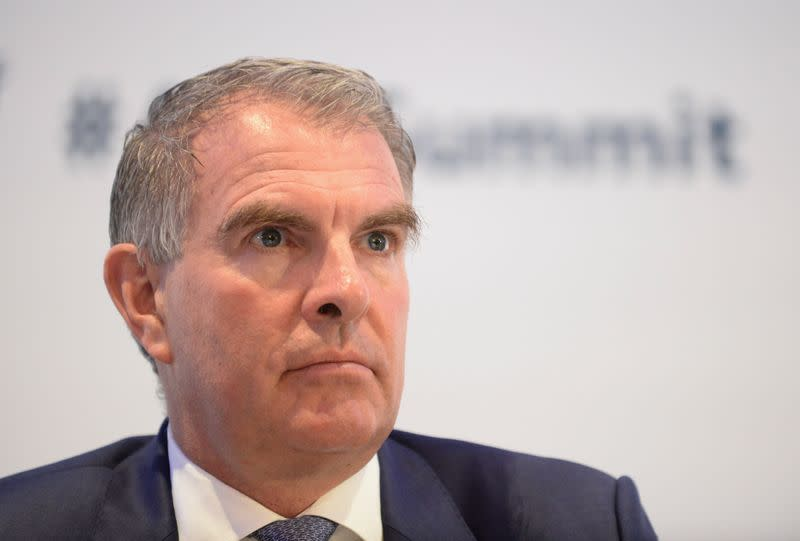 Carsten Spohr, Chairman of the Executive Board and Chief Executive Officer of Deutsche Lufthansa AG attends the Europe Aviation Summit in Brussels