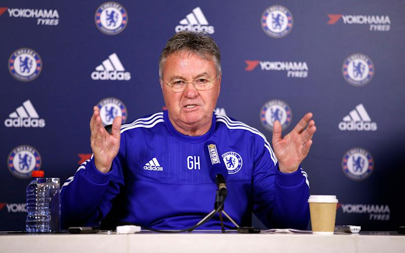 Guus Hiddink had two spells as Chelsea interim manager in 2009 and 2016 - Reuters