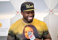 <p>Rapper 50 Cent is known for being pretty ripped, but he slimmed down and lost weight for his role as a cancer patient in <em>Things Fall Apart</em>.</p>
