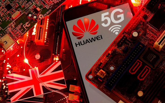 The cancellation of Huawei's involvement in the UK's 5G network has been a source of strain between the UK and China - Dado Ruvic/Reuters