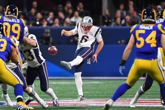 The New England Patriots won't have to find a new punter for the 2019 season.