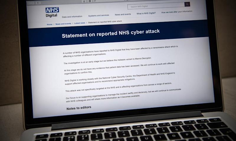 The spread of WannaCry ransomware wreaked havoc on organizations including the UK's National Health Service (NHS).