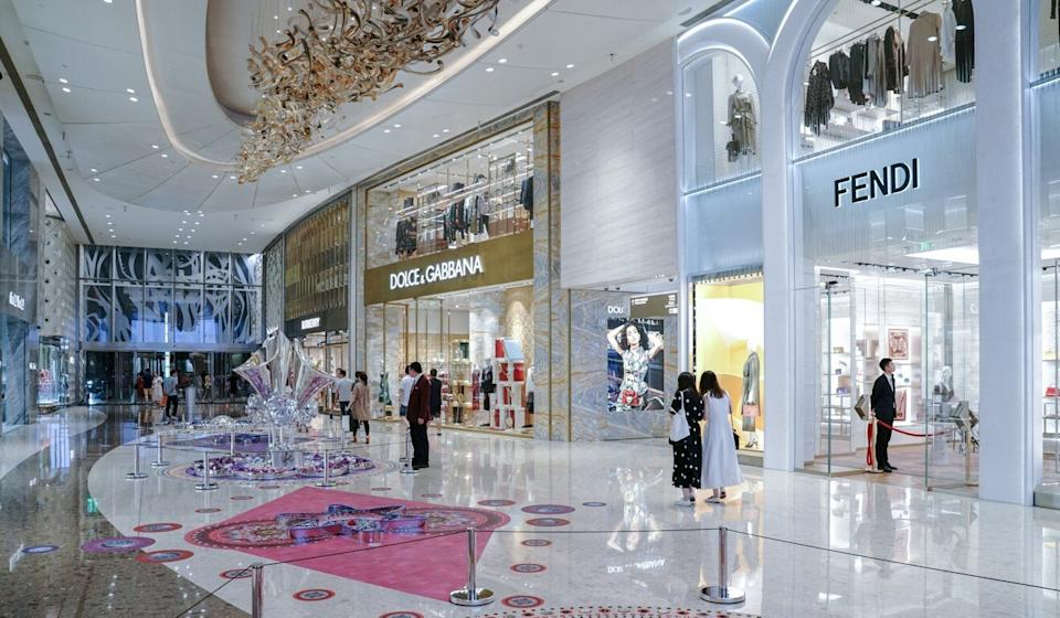 Luxury retailers are considering moving their regional operations to China from Hong Kong. Photo: Shutterstock