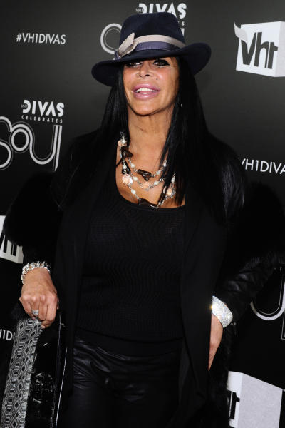 "FILE - This Dec. 18, 2011 file photo shows Angela Raiola, better known as Big Ang, arriving at ""Vh1 Divas Celebrates Soul"" in New York. Raiola, who stars in the Vh1 series ""Mob Wives,"" will also star in her new Vh1 spinoff series ""Big Ang"" premiering, Sunday, July 8 at 9p.m. EST on Vh1. Her first book, to be released on Sept. 11 by Simon & Schuster, is called ""Bigger Is Better: Real Life Wisdom from the No-Drama Mama."" (AP Photo/Charles Sykes, file)"