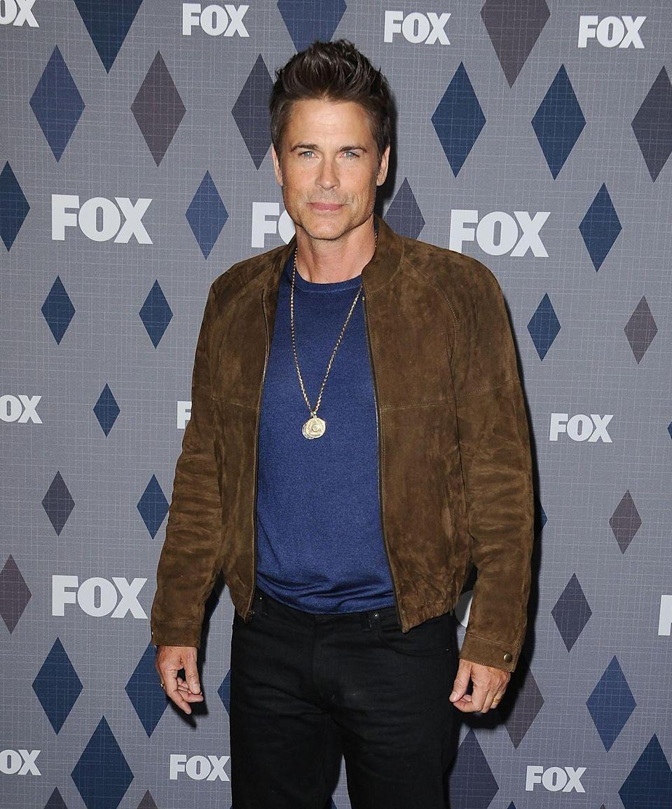 """<p>Is it even fair that Rob Lowe still looks this good? He's been rocking roles nonstop since the '80s, everything from the political (<em>The West Wing)</em> to the hilarious <em>(Parks and Recreation</em><span class=""""redactor-invisible-space"""">) to the animated (<em>Moonbeam City</em><span class=""""redactor-invisible-space"""">).</span></span></p>"""