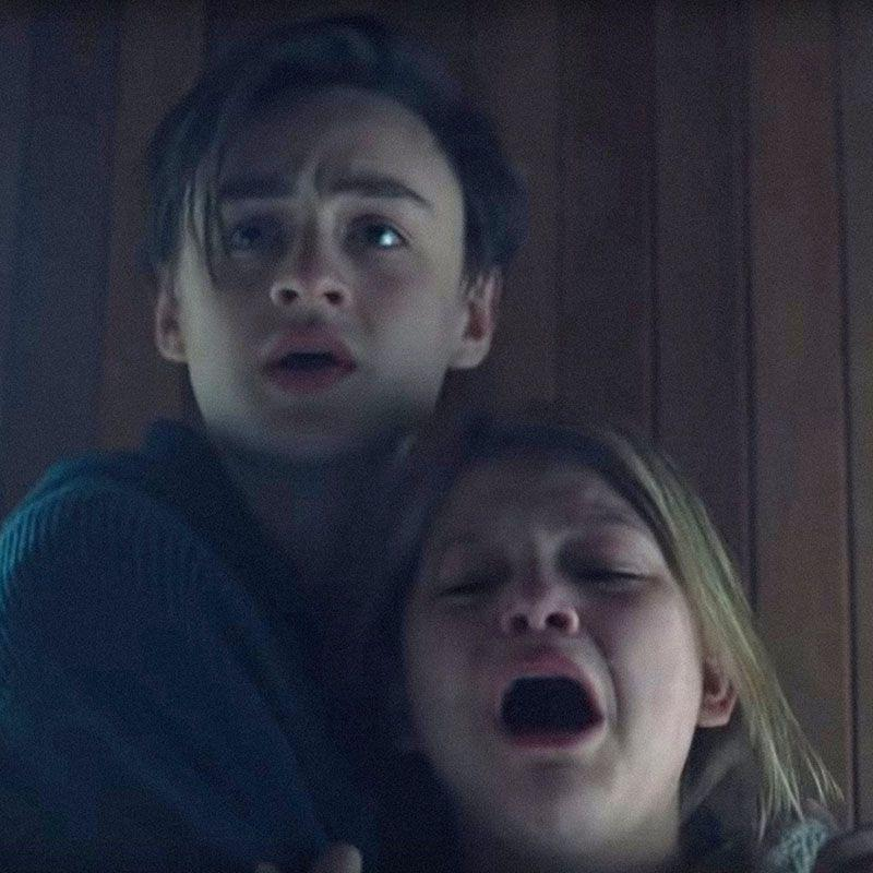 """<p>Grief catalyzes writers-directors Severin Fiala and Veronika Franz's nightmarish film that centers on two siblings (Lia McHugh and Jaeden Martell) who lose their mother and are instantaneously pulled into a new relationship with their dad's mysterious fiancée (Riley Keough). As the trio coops up together at the eponymous residence, more and more frightening and inexplicable things happen that cause both the siblings and their stepmom-to-be to begin suspecting each other. <em>The Lodge</em> is an utterly terrifying film that also leaves you looking at each of the characters a little sideways by its macabre conclusion. </p><p><a class=""""link rapid-noclick-resp"""" href=""""https://www.amazon.com/Lodge-Riley-Keough/dp/B0875KMRN8/ref=sr_1_1?dchild=1&keywords=The+Lodge&qid=1590085935&s=instant-video&sr=1-1&tag=syn-yahoo-20&ascsubtag=%5Bartid%7C10056.g.32631273%5Bsrc%7Cyahoo-us"""" rel=""""nofollow noopener"""" target=""""_blank"""" data-ylk=""""slk:Watch Now"""">Watch Now</a></p>"""