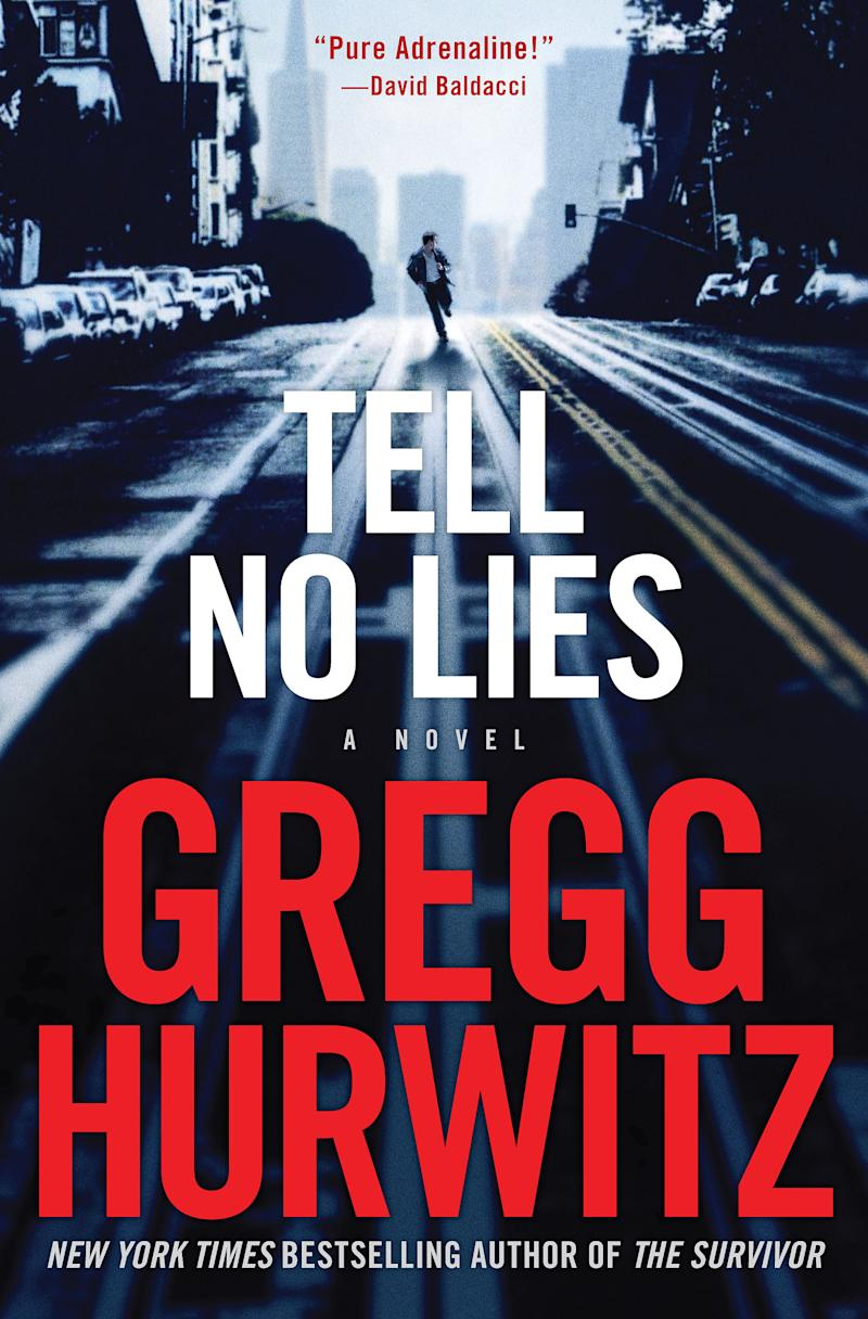"This book cover image released by St. Martin's Press shows ""Tell No Lies,"" by Gregg Hurwitz. (AP Photo/St. Martin's Press)"