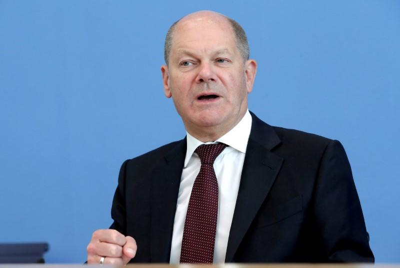 German stimulus package requires extra budget of some 25 billion euros - Scholz