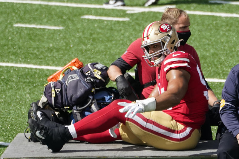 49ers confirm torn ACL for DL Solomon Thomas