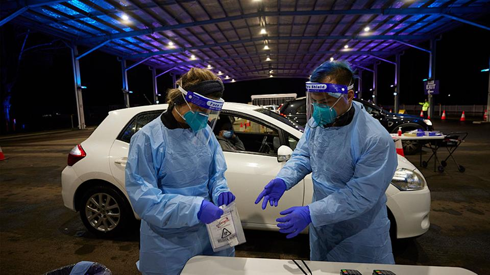 NSW reported 50 new Covid cases on Saturday. Source: Getty Images