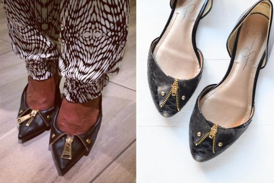 <p>Thanks to this easy shoe upgrade, you can save a pretty penny and channel your inner Mindian at the same time.<br /></p>