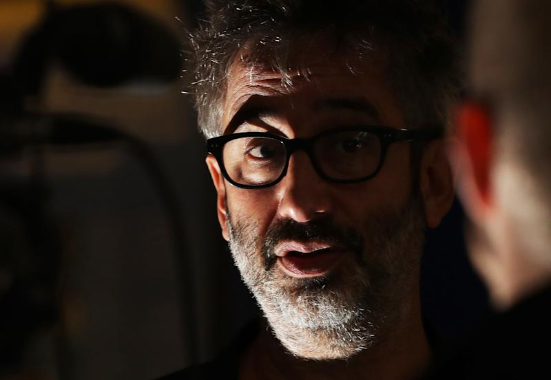 David Baddiel at The Word, National Centre for the Written Word in South Shields in Tyneside, Newcastle.