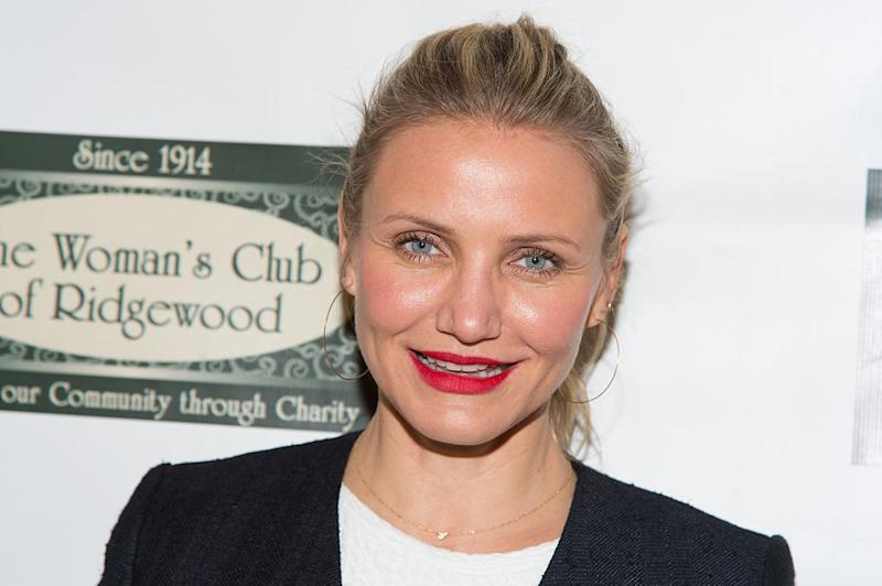 Cameron Diaz has revealed that her and her husband's opposite sleeping schedules has been helping with parenthood, pictured here in 2016. (Getty Images)