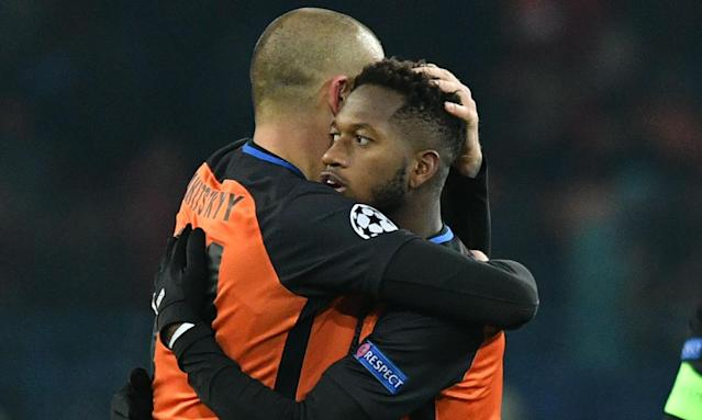 Right, said Shakhtar Donetsk's midfielder Fred, off to Manchester United?