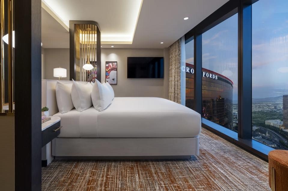 A view of one of the hotel rooms at Resorts World Las Vegas. ― Picture courtesy of Resorts World Las Vegas
