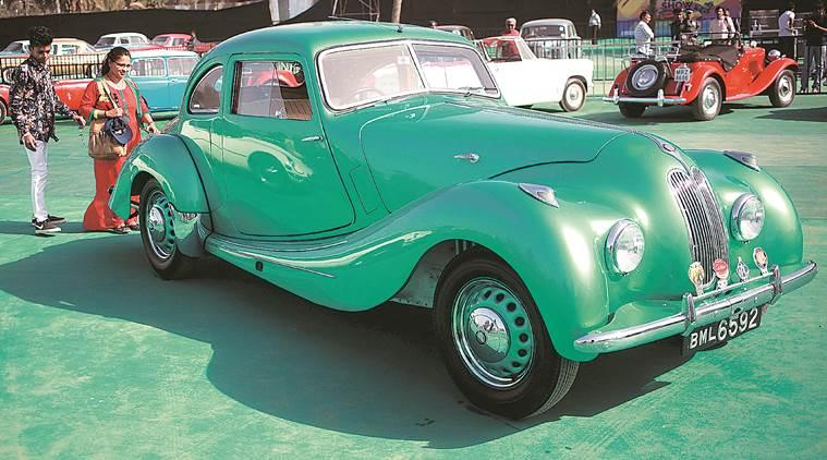 mumbai auto show, vintage cars, humber, stellite, minerva, cord, triumph, western indian automobile association, western indian automobile association auto show, bandra kurla complex, mmrda grounds, mumbai news, indian express