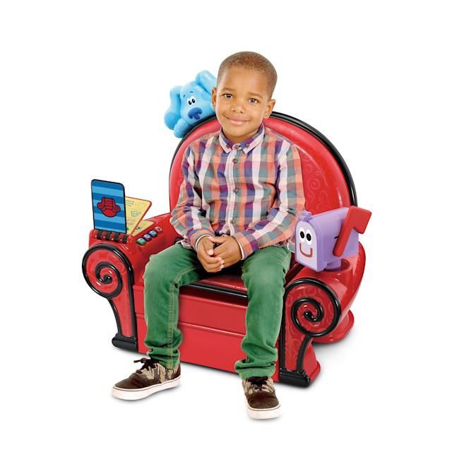 Play And Learn Thinking Chair Blues Clues And You Non Removable Handy Notebook