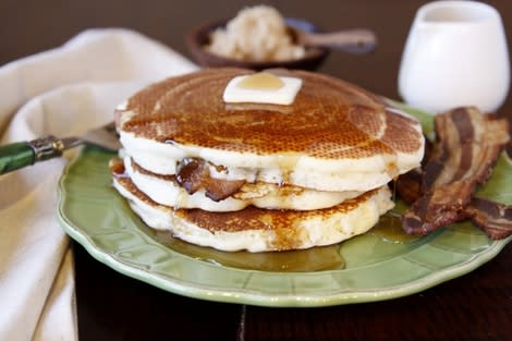 Bacon-Stuffed Pancakes