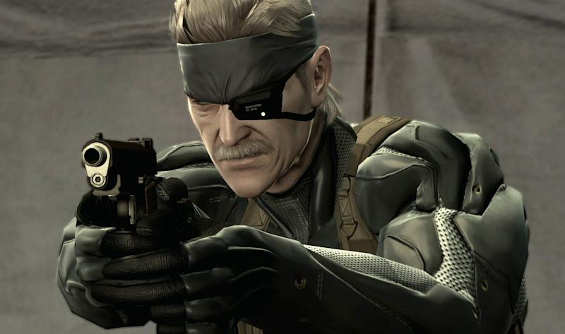 """FILE - This undated file photo released by Konami shows a scene from """"Metal Gear Solid 4"""". """"Metal Gear Solid"""" creator Hideo Kojima says actor Kiefer Sutherland will play protagonist Snake in the next installment of the stealth video game series. The character has been portrayed by voice actor David Hayte since the first """"Metal Gear Solid"""" game in 1998. (AP Photo/Konami)"""