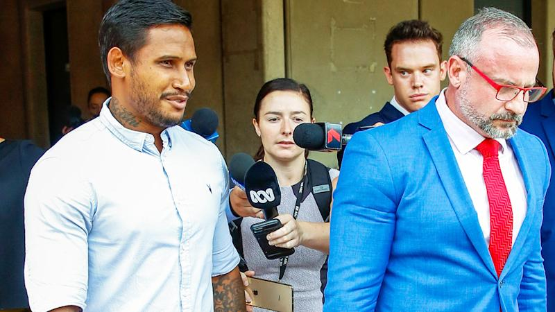 Ben Barba, pictured here leaving Townsville court in 2019.