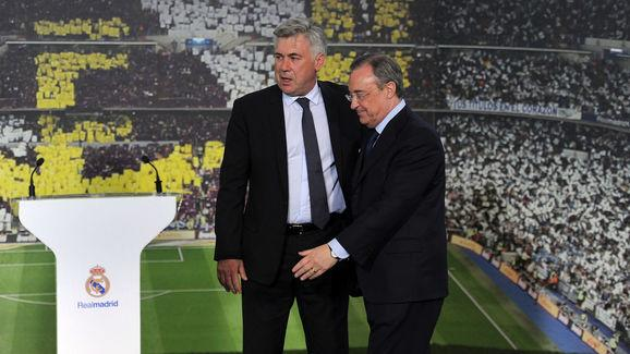 Carlo Ancelotti New Real Madrid Manager Press Conference and Photo Call