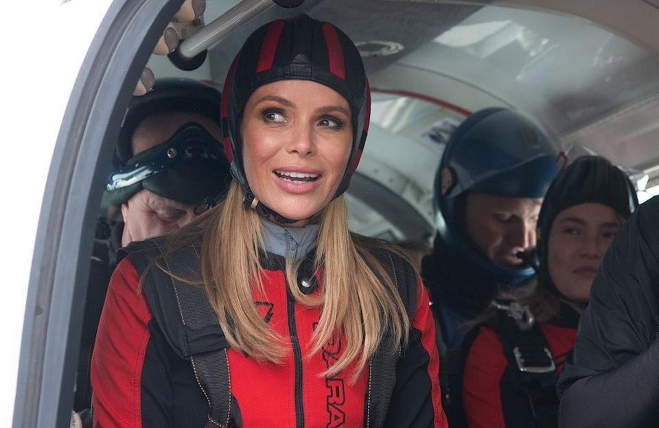 Amanda Holden has completed a charity skydive (Credit: Heart/Instagram)