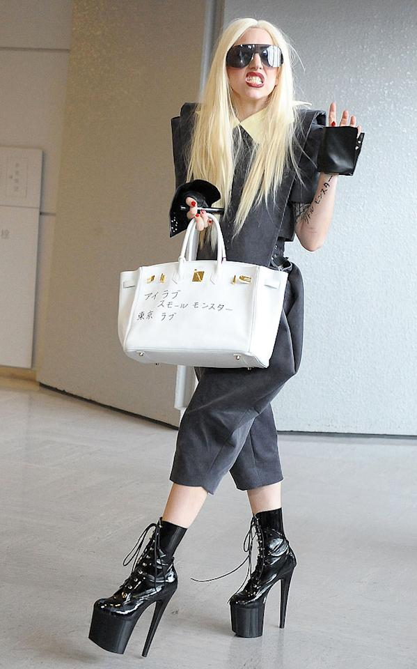 """Maybe Lady Gaga has the right idea? The musical fashion plate declared that she's celibate. The singer, spotted in Tokyo Tuesday with her defaced Birkin bag, told Britain's <i>Daily Mail</i>: """"I'm single right now and I've chosen to be single because I don't have the time to get to know anybody. So it's OK not to have sex, it's OK to get to know people. I'm celibate, celibacy's fine."""" So there you have it. Jun Sato/<a href=""""http://www.wireimage.com"""" target=""""new"""">WireImage.com</a> - April 13, 2010"""