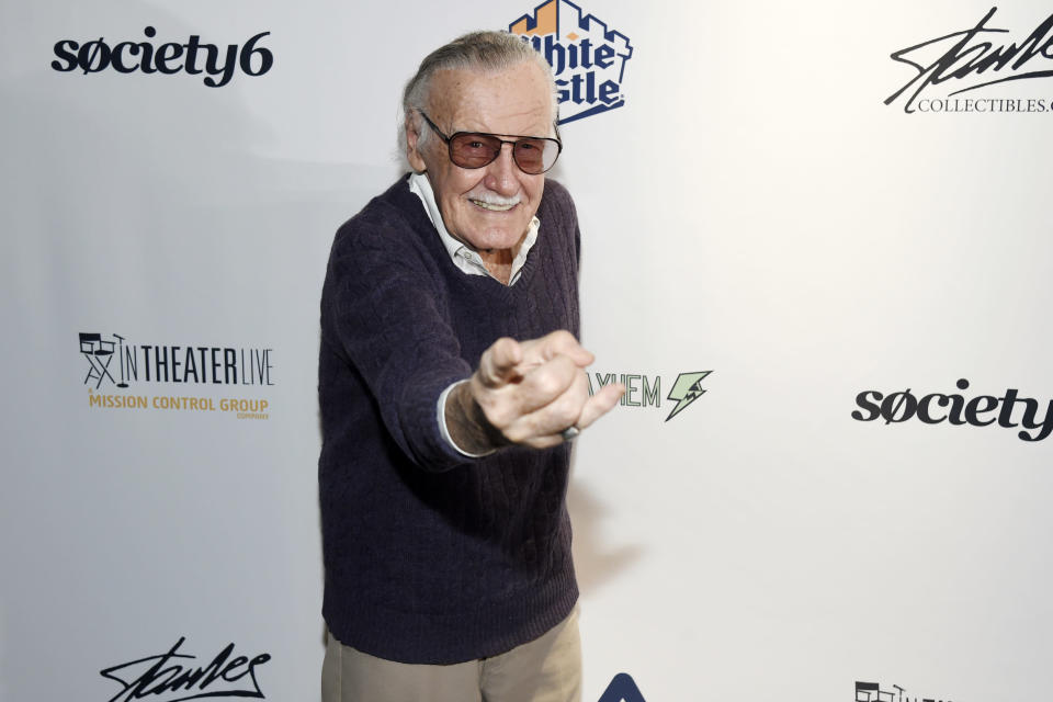 Stan Lee has been accused of sexual misconduct (Photo by Chris Pizzello/Invision/AP, File)