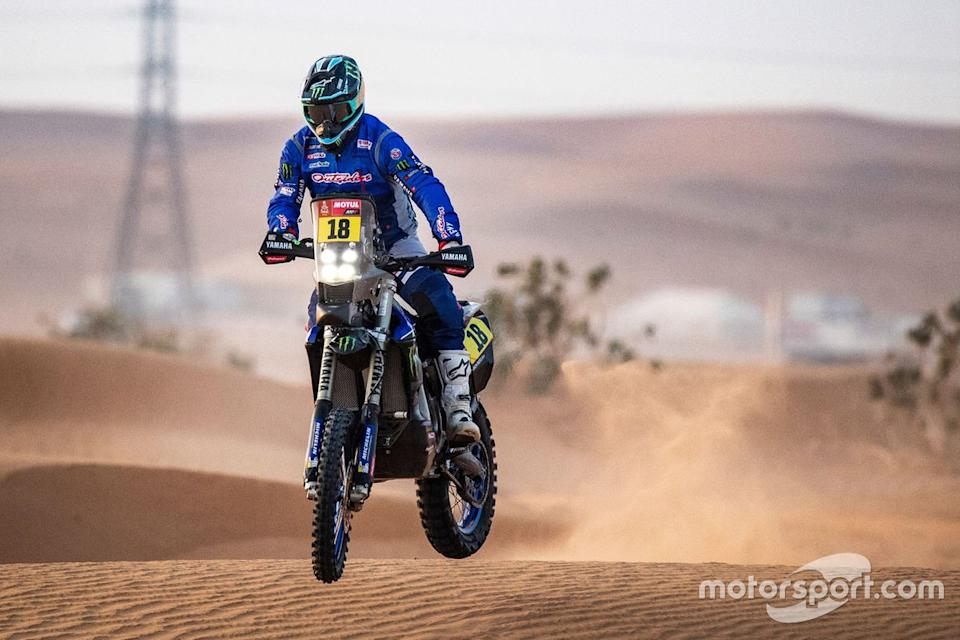 "#18 Monster Energy Yamaha Rally Team: Ross Branch<span class=""copyright"">Yamaha Motor Racing</span>"
