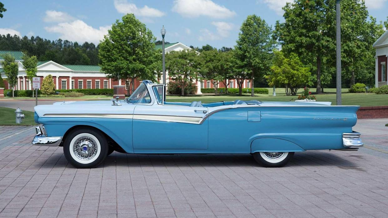 Chevrolet Made 1957 A Memorable Year, Ford's Fairlane Beat It