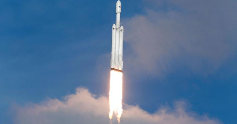 SpaceX Falcon Heavy Rocket's Booster Got Lost Into the Sea
