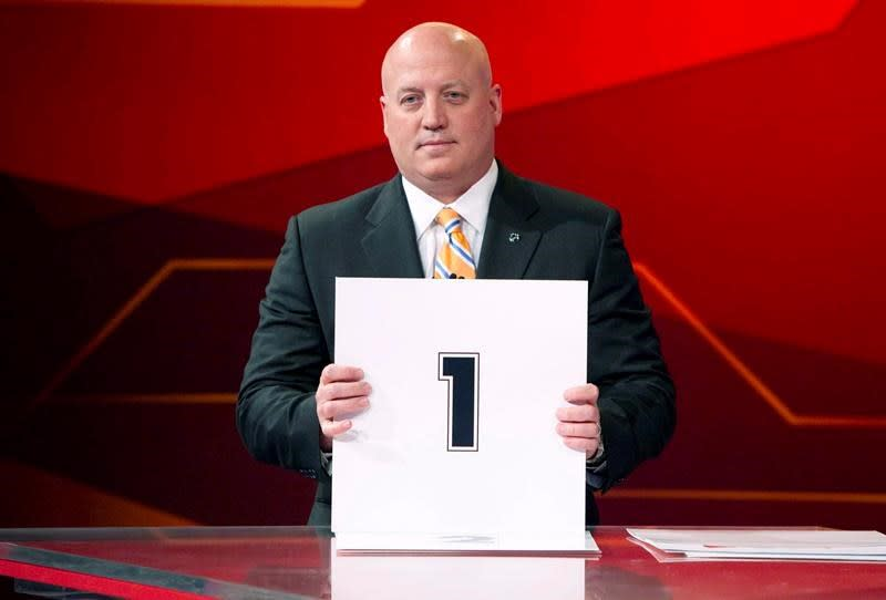 Second phase of NHL draft lottery set for Monday