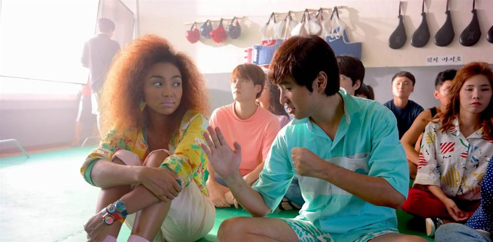 """<p>A group of Korean teenagers travel to Seoul to stay at a summer camp and learn about their heritage. </p> <p>Watch <a href=""""http://www.netflix.com/title/80106230"""" class=""""link rapid-noclick-resp"""" rel=""""nofollow noopener"""" target=""""_blank"""" data-ylk=""""slk:Seoul Searching""""><strong>Seoul Searching</strong></a> on Netflix now.</p>"""