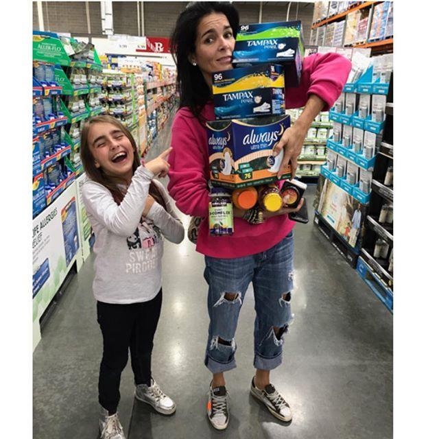 Angie Harmon shares a relatable photo from the grocery store. (Photo: Instagram/Angie Harmon)