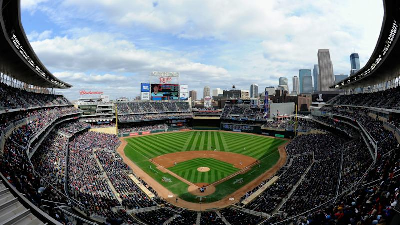 Pirates-Twins game delayed by … a drone?