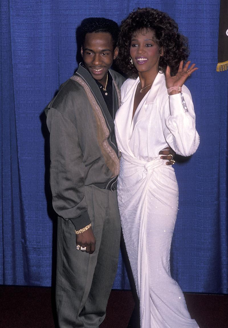 Bobby Brown and Whitney Houston in 1990. (Photo: Ron Galella, Ltd./Ron Galella Collection via Getty Images)