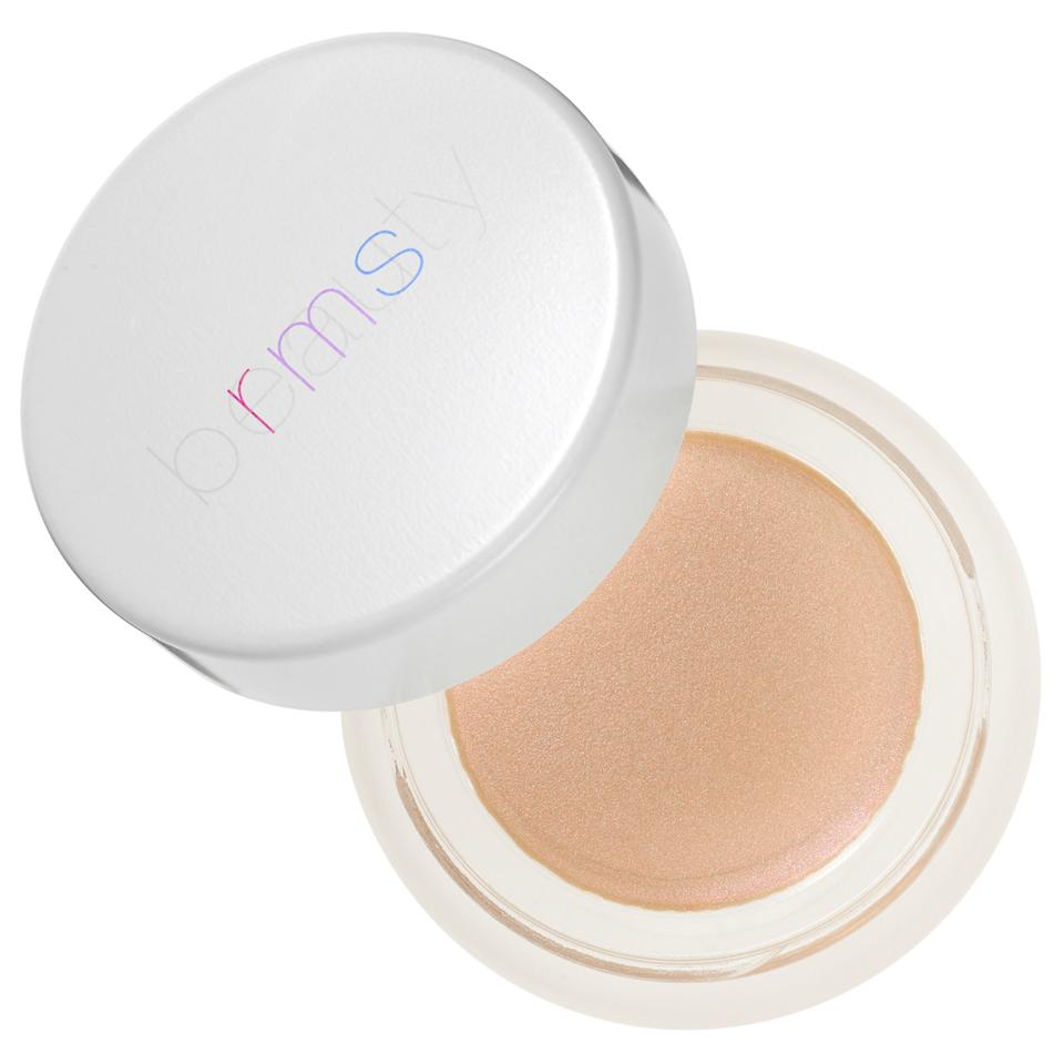"<p>Dab on this cream highlighter to the high points of your cheeks, your Cupid's bow, above your brow bone, and down your nose with your ring finger and your glowy self is set. </p> <p>$38 | <a rel=""nofollow"" href='http://www.sephora.com/champagne-rose-luminizer-P417944?skuId=1928035&icid2=products%20grid:p417944'>SHOP IT</a></p>"