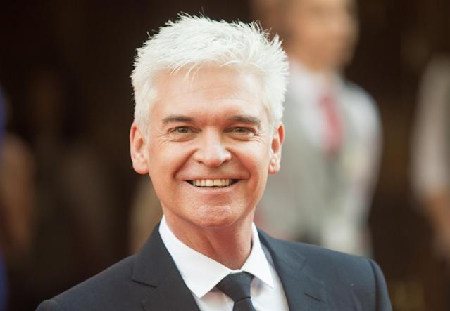 Phillip Schofield pictured in 2017. The presenter is one of the most recognisable faces on British TV. (WireImage)
