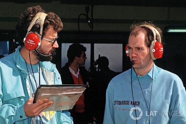 "Adrian Newey, Leyton House March <span class=""copyright"">Motorsport Images</span>"