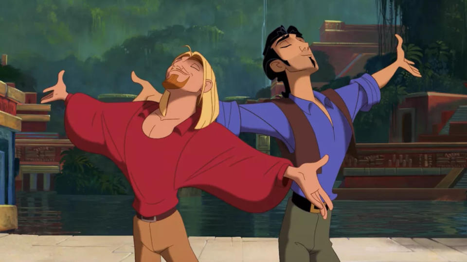 'The Road to El Dorado'. (Credit: DreamWorks)