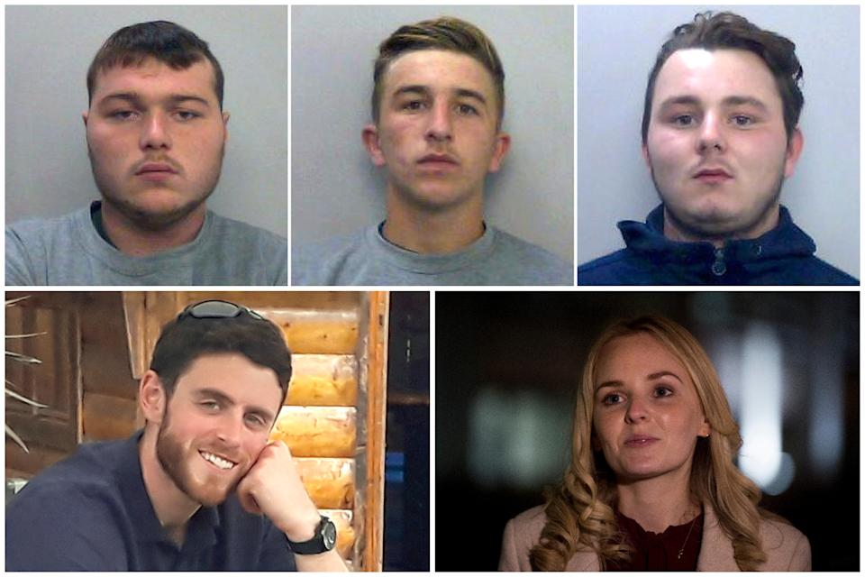 The three killers of PC Andrew Harper are appealing their sentences, while the attorney general is asking for them to be lengthened. (PA/Thames Valley Police)