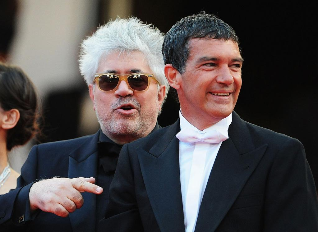 "<a href=""http://movies.yahoo.com/movie/contributor/1800023081"">Pedro Almodovar</a> and <a href=""http://movies.yahoo.com/movie/contributor/1800018806"">Antonio Banderas</a> attend the 64th Annual Cannes Film Festival premiere of ""The Skin I Live In"" on May 19, 2011."