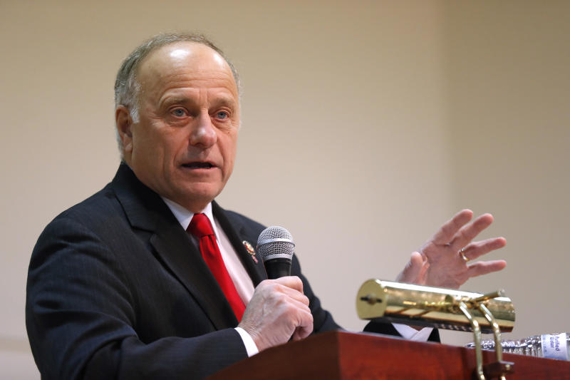 Iowa's Steve King faces toughest primary fight in years