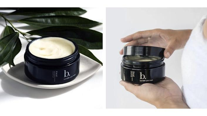 This nourishing skin soufflé brings deep moisturizing to hands, feet, and body