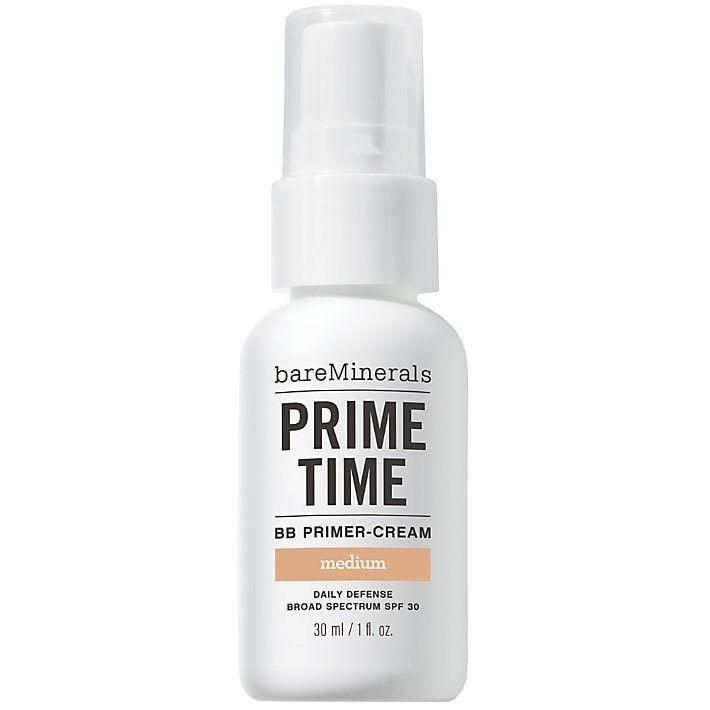 """<p><strong>BareMinerals</strong></p><p>walmart.com</p><p><strong>$20.25</strong></p><p><a href=""""https://go.redirectingat.com?id=74968X1596630&url=https%3A%2F%2Fwww.walmart.com%2Fip%2F251896406&sref=https%3A%2F%2Fwww.thepioneerwoman.com%2Fbeauty%2Fskin-makeup-nails%2Fg35854718%2Fbest-bb-creams-with-spf%2F"""" rel=""""nofollow noopener"""" target=""""_blank"""" data-ylk=""""slk:Shop Now"""" class=""""link rapid-noclick-resp"""">Shop Now</a></p><p>This is specifically a BB primer cream, so it's a great pick for skin prep before starting your full-faced makeup routine. It offers a hint of coverage and smooths out your skin before you add heavier-duty products. </p>"""